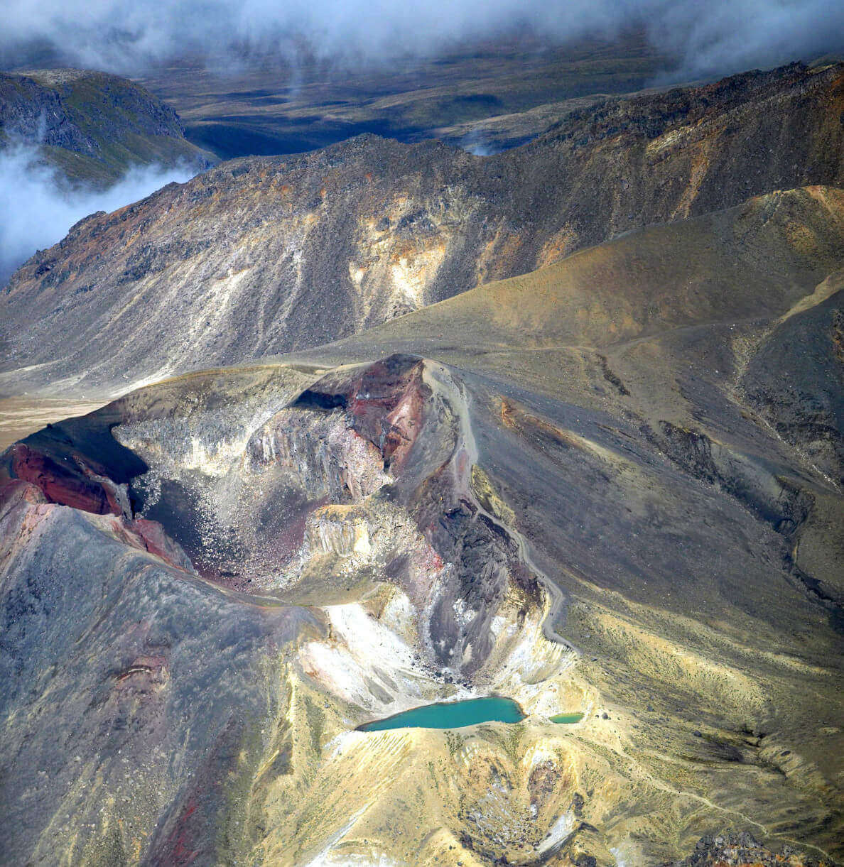 View of Tongariro Crossing